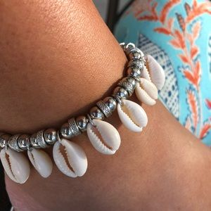 Accessories - Cowrie Shell Anklet